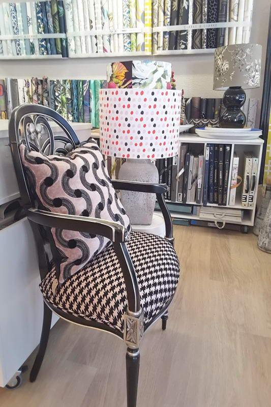 Wall St Designs interior inspiration chair